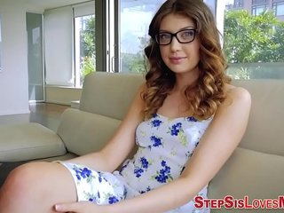 Teen stepsister slam pov