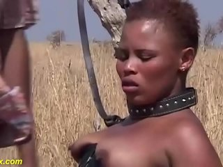 brutal african fetish fuck lesson at the savannah