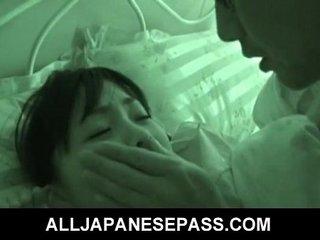 Sleeping angel Hikaru Momose has surprise sex