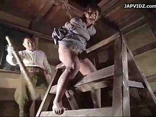 Asian Teen Extreme Bondage Action