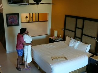 Young girl molested, forced to fuck and creampied against her will by hotel room intruder spy cam POV Indian
