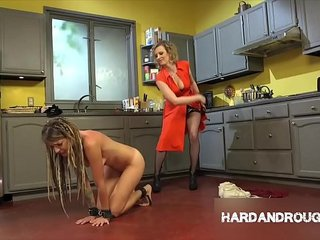 Whipped Ass Lesbian Femdom BDSM Compilation