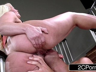 Stepmom Alura Jenson Challenging Stepson to Live Up to Her Erotic Expectations