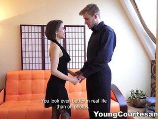 Young Courtesans - Teen courtesan Jalace knows her job teen-porn