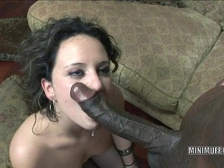 Brunette cutie Cami Smalls gets her tight pussy stuffed