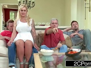 Curvy Stepmom Ryan Conner Takes Her Stepson's Young Cock