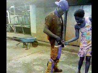 may pen Clarendon Jamaican man fucks mad aunty in market