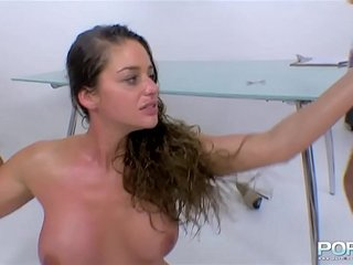 Cathy Heaven Fisting Threesome